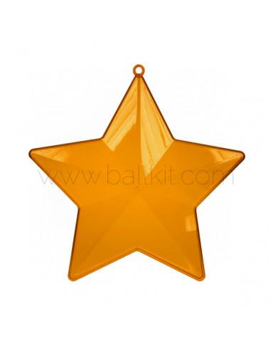 Acheter étoile Plastique Teintée Transparente En Deux Parties Diamètre 10 Cm Lot De 10 Couleurs Teintées Coloris Indifférent