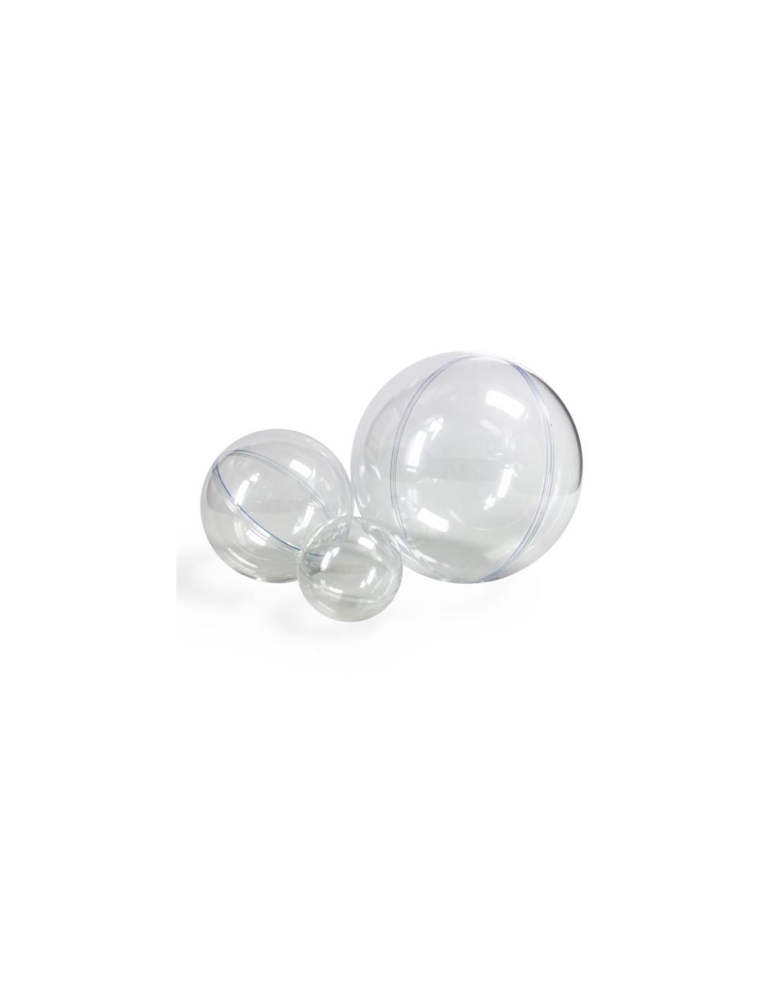 separabile diametro 20 cm Sfera in plastica trasparente