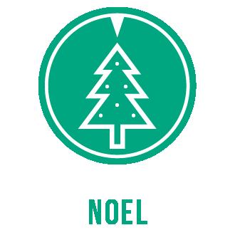 Icone thème Noël sapin