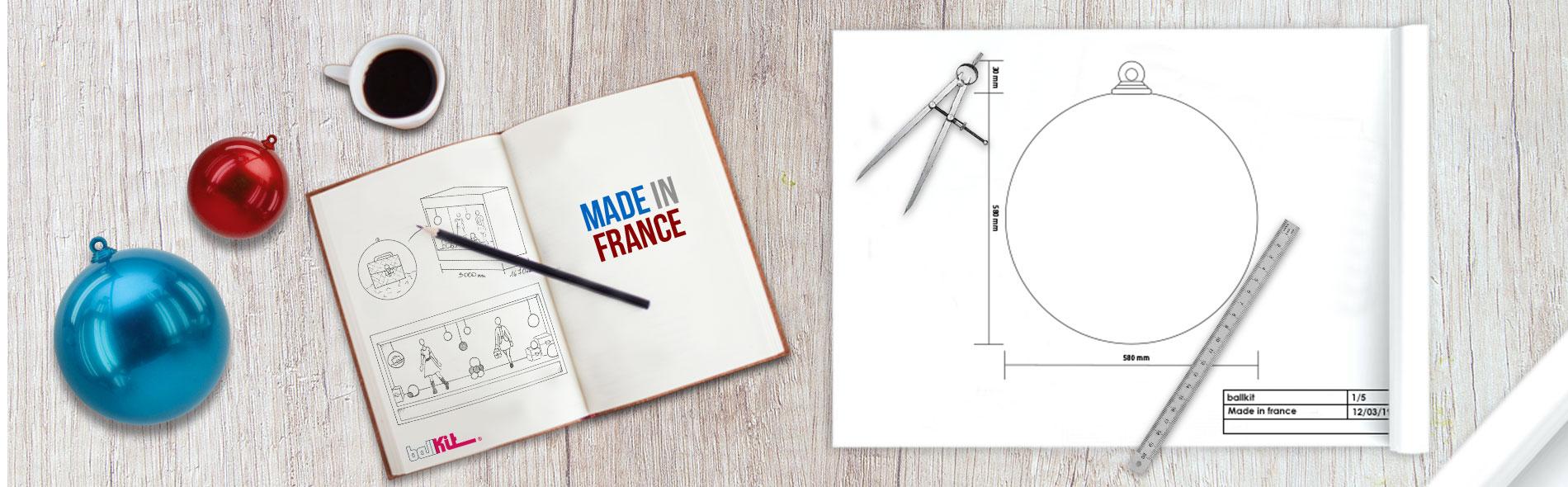 Conception et fabrication française